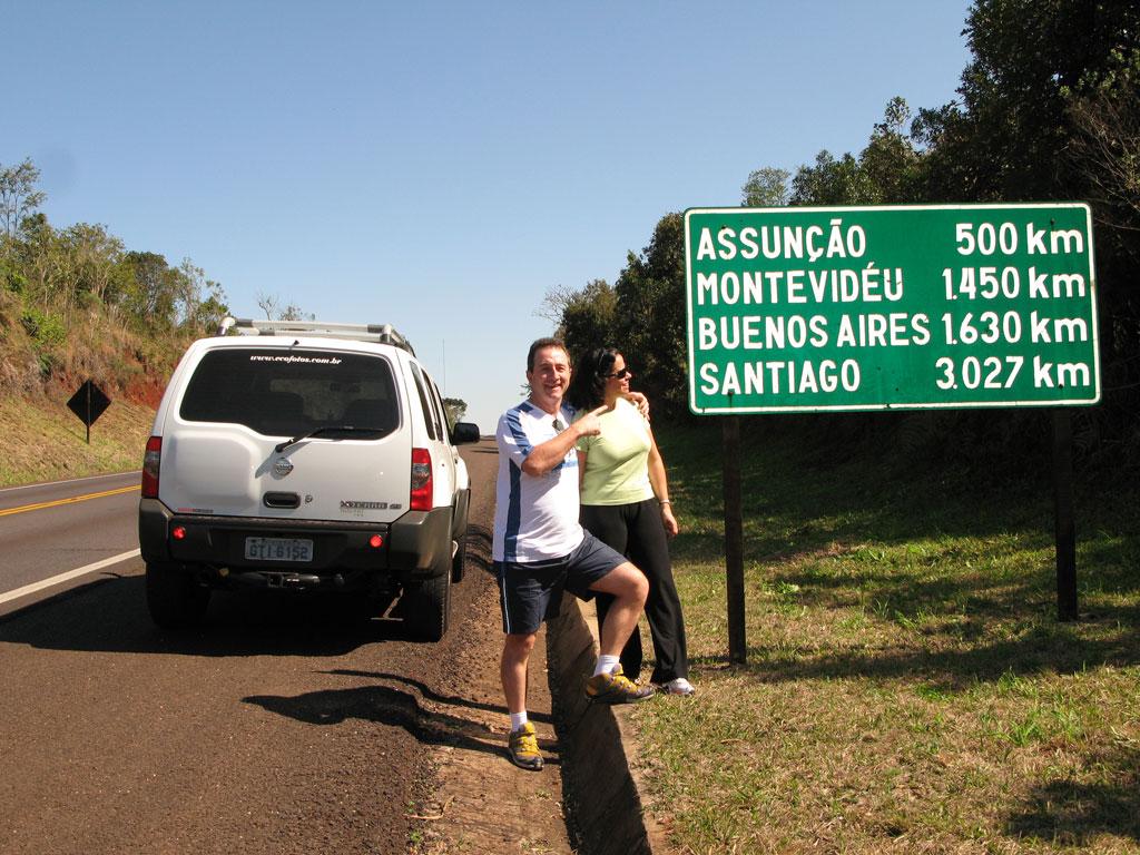 De Foz do Iguaçu à Buenos Aires de carro