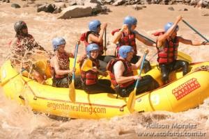 Rafting no rio Mendoza - Mendoza - Argentina
