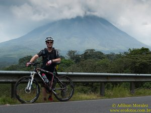 MTB no vulcão Arenal